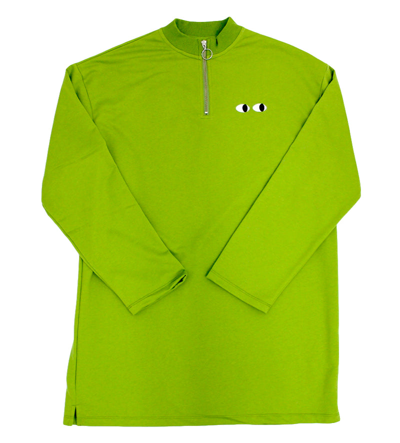 Lime Zippy Dress (Green)