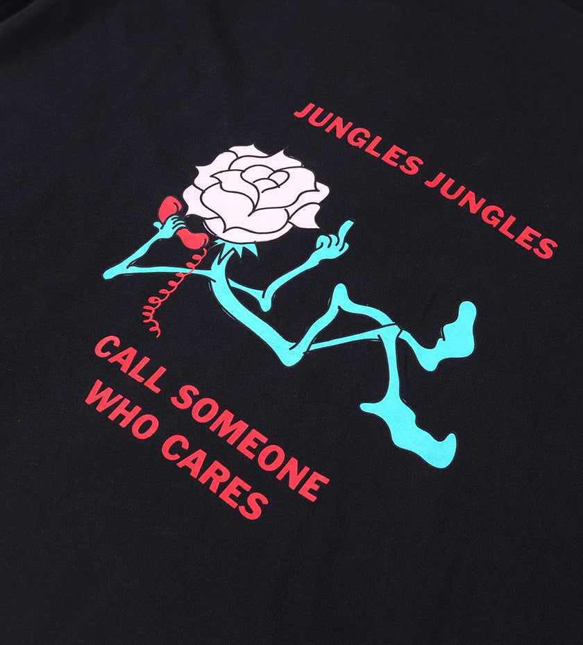 Call Someone Tee (Washed Black)