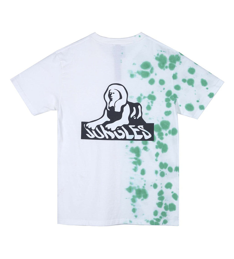 Sphinx Logo Tie Dye Tee (Speckled Algae / White)
