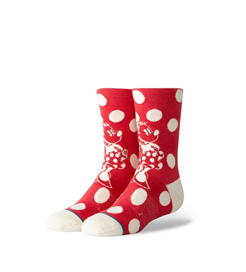 Minnie Mouse Socks (Red)
