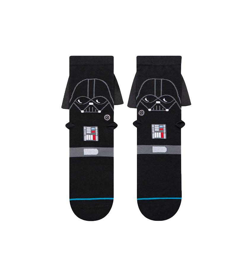 3D Darth Kids Socks (Black)