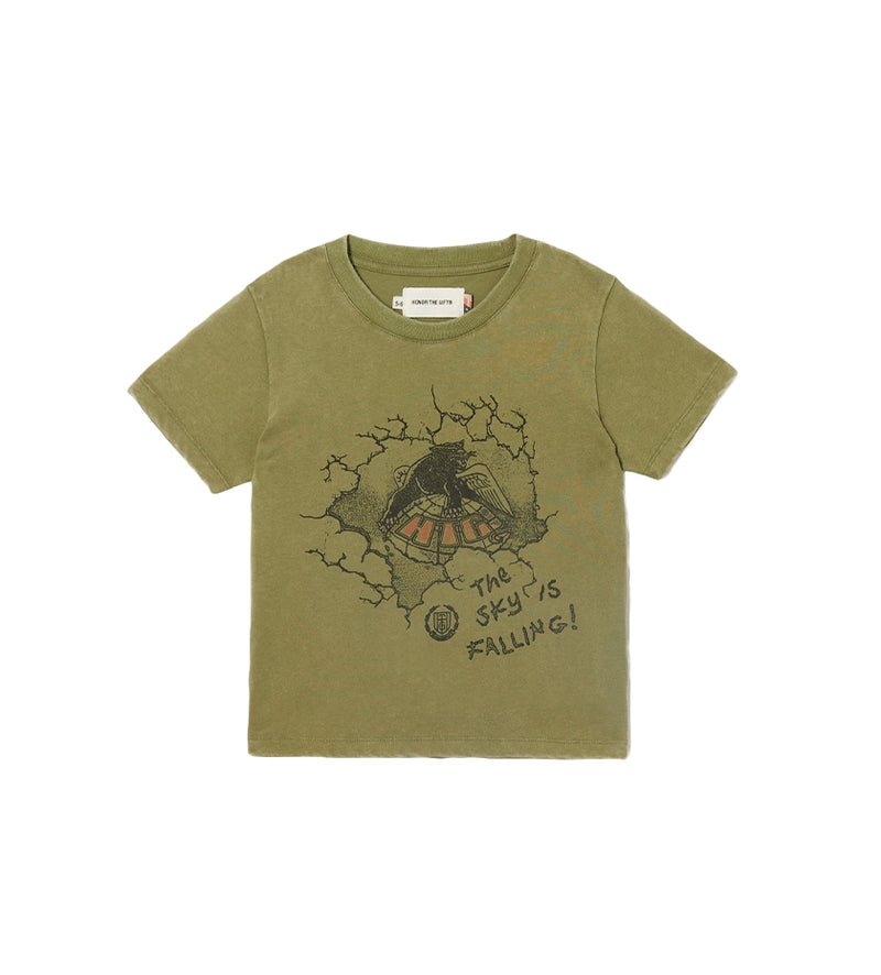 Worldwide Kids S/S Tee (Army)