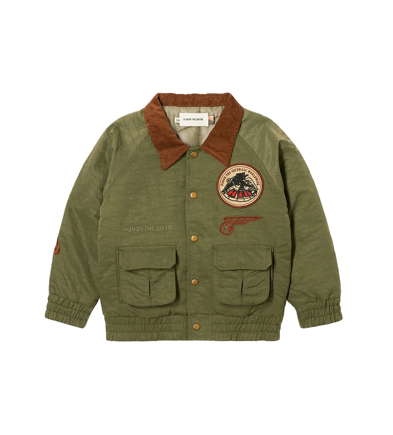 Airborne Kids Jacket (Army)