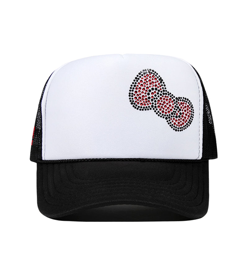Bow Trucker Snapback (Black)