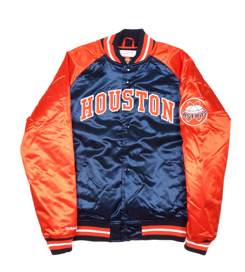 MLB Tough Season Satin Jacket (Houston Astros)