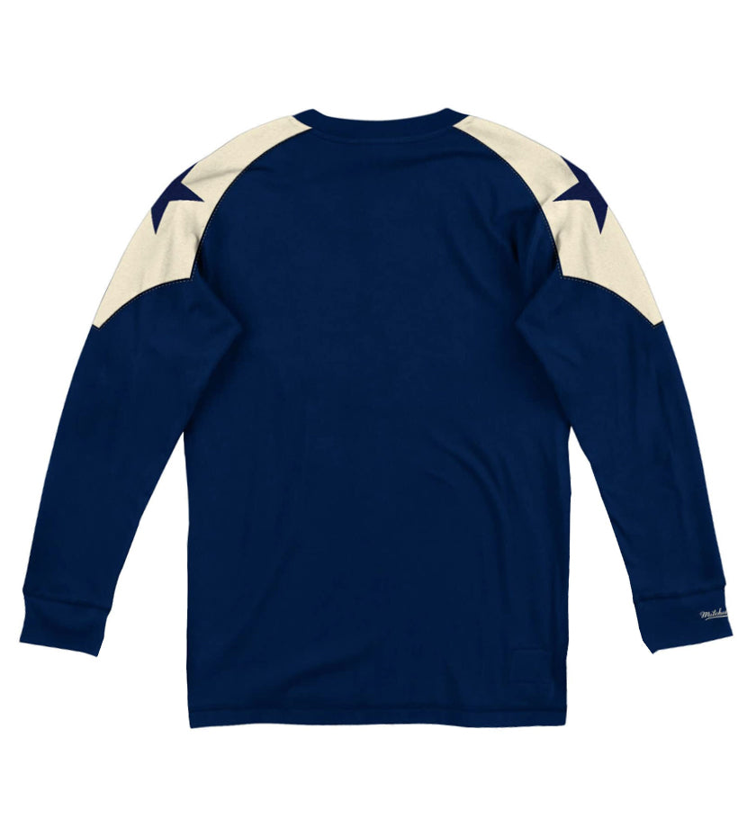 Dallas Cowboys Team Inspired Long Sleeve (Navy)