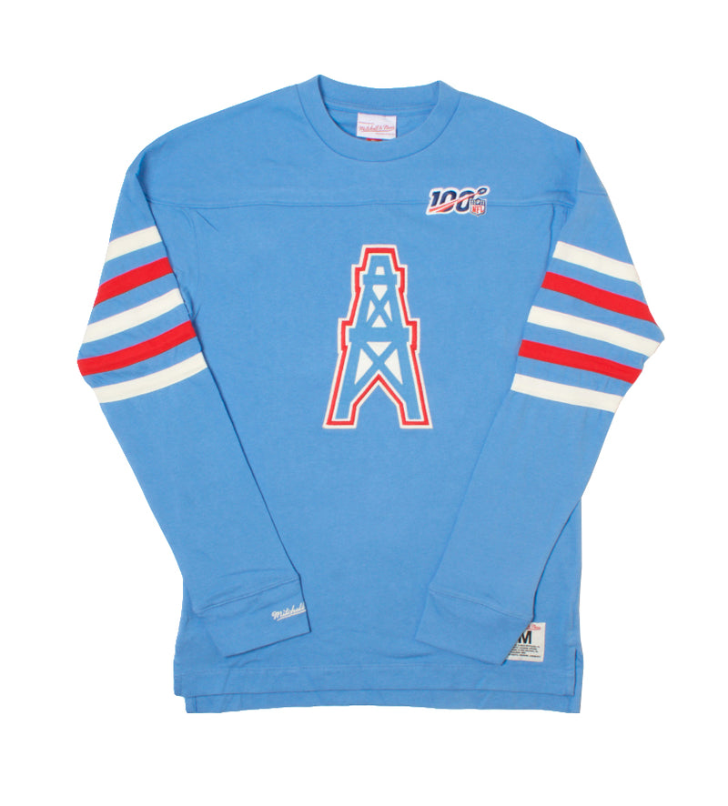 Oilers Team-Inspired Longsleeve (Light Blue)