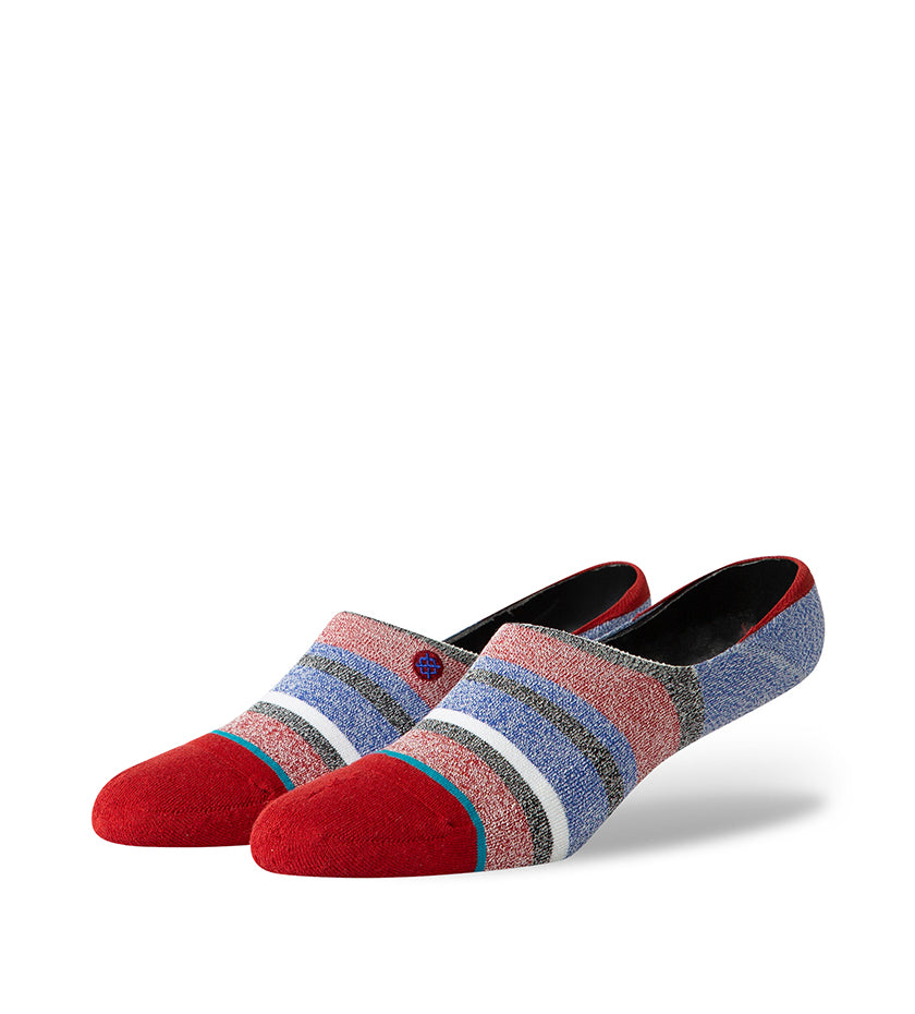 Noosa Invisible Socks (Red)