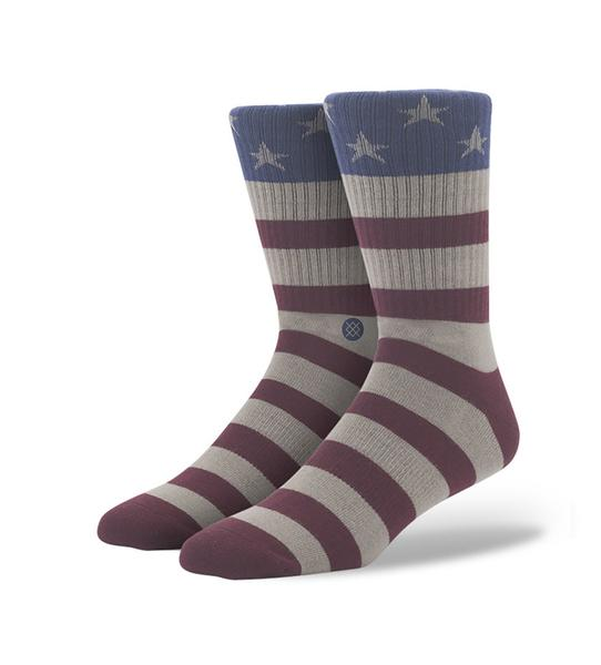The Fourth Socks (Red)