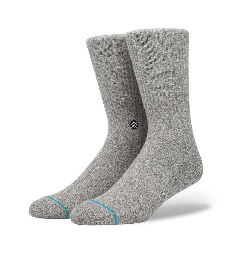 Icon Socks (Grey Heather)