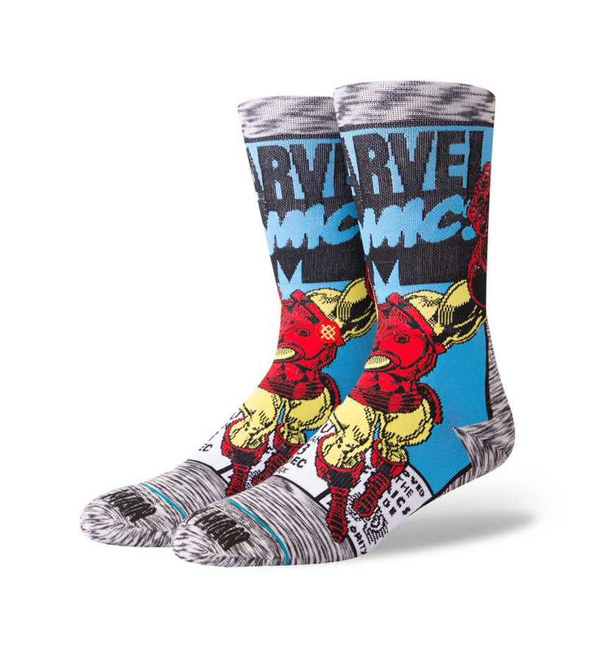 Iron Man Comic Socks