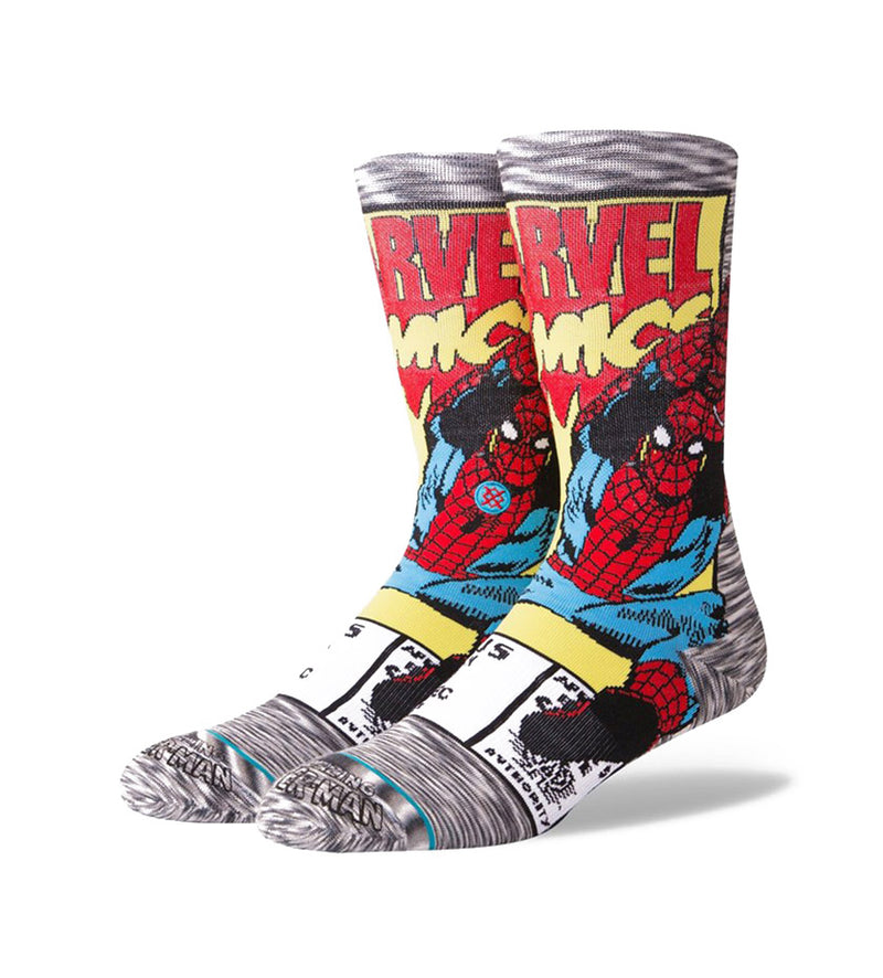 Spiderman Comic Socks