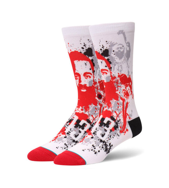 Harden Splatter Socks