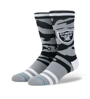 Raiders Tigerstripe Socks