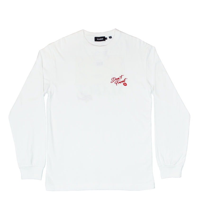 Marriage Blue L/S Tee (White)