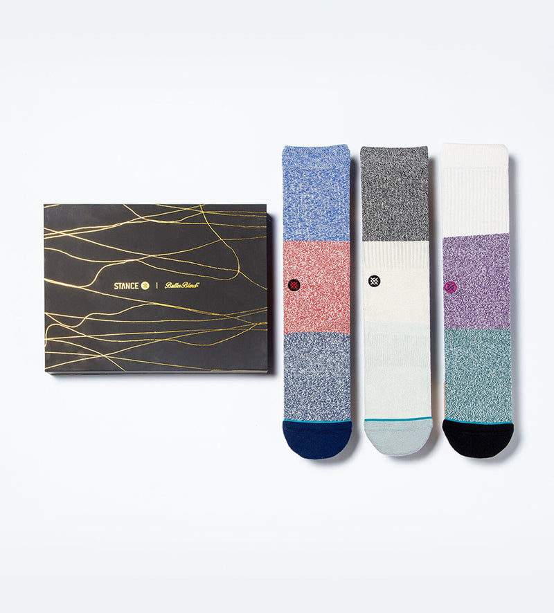Butter Blend Crew 3-Pack Socks (Multi)