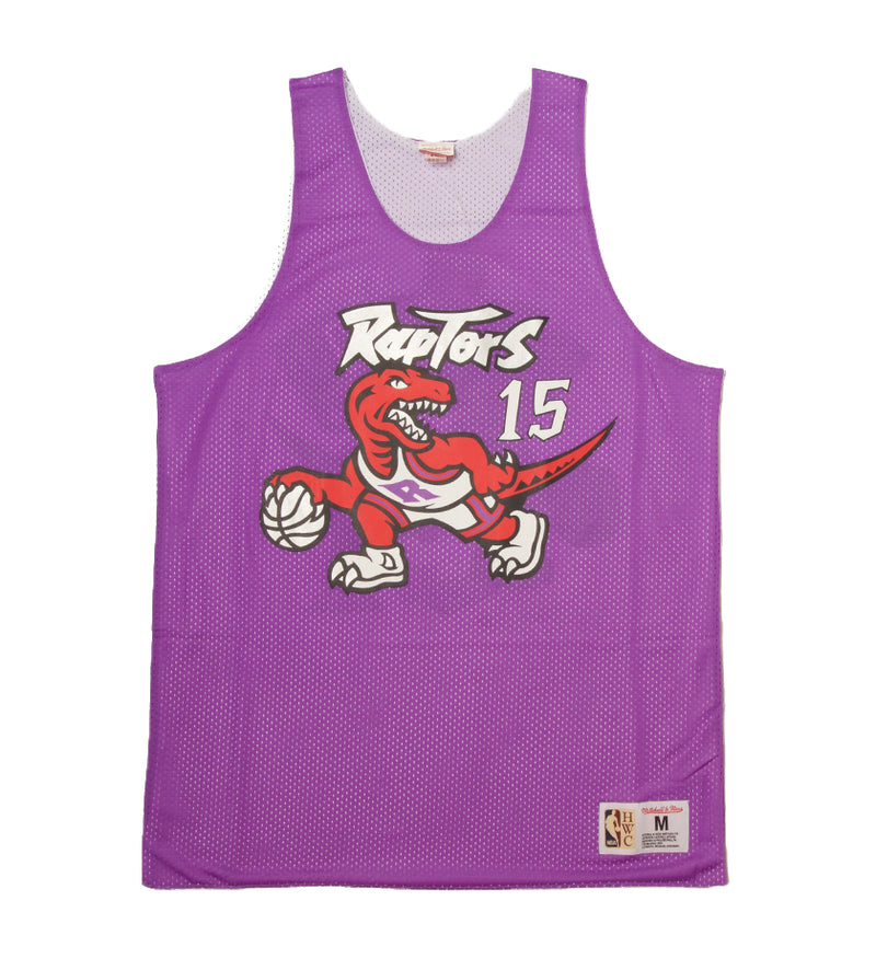 Raptors 1998 Vince Carter Reversible Mesh Tank (Purple/White)