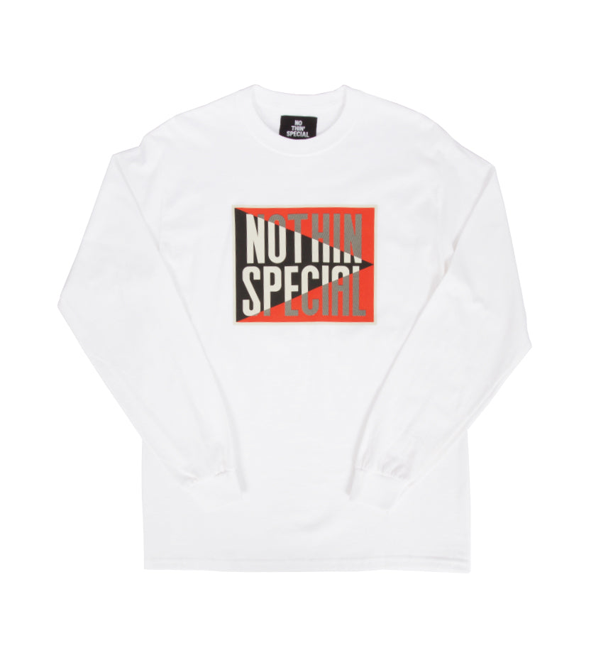 Lucky L/S Tee (White)