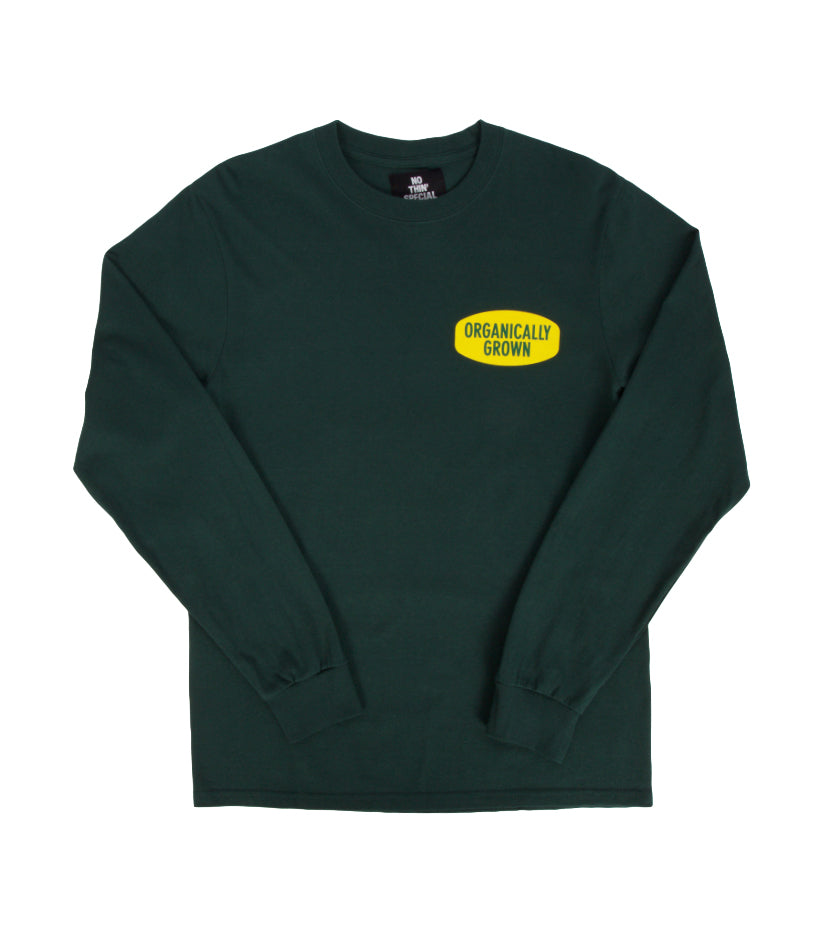 Organically L/S Tee (Dark Green)