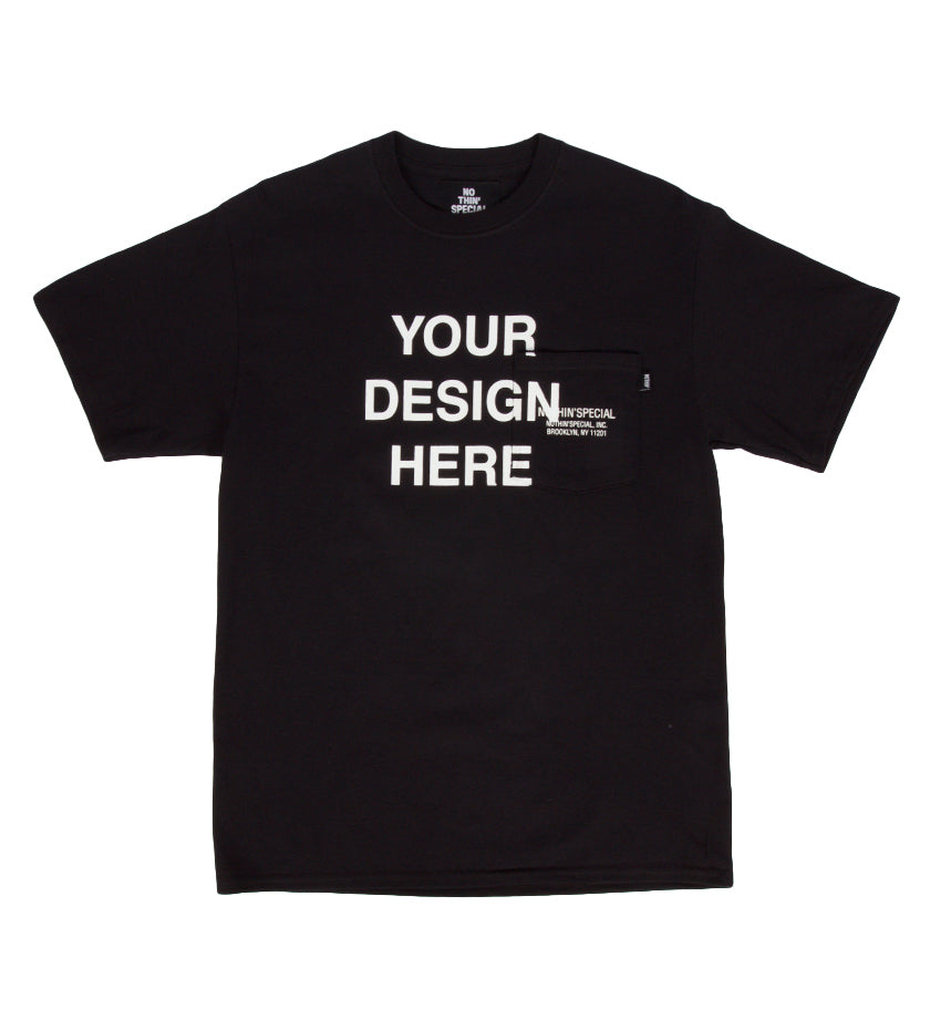 Make Your Own Tee (Black)