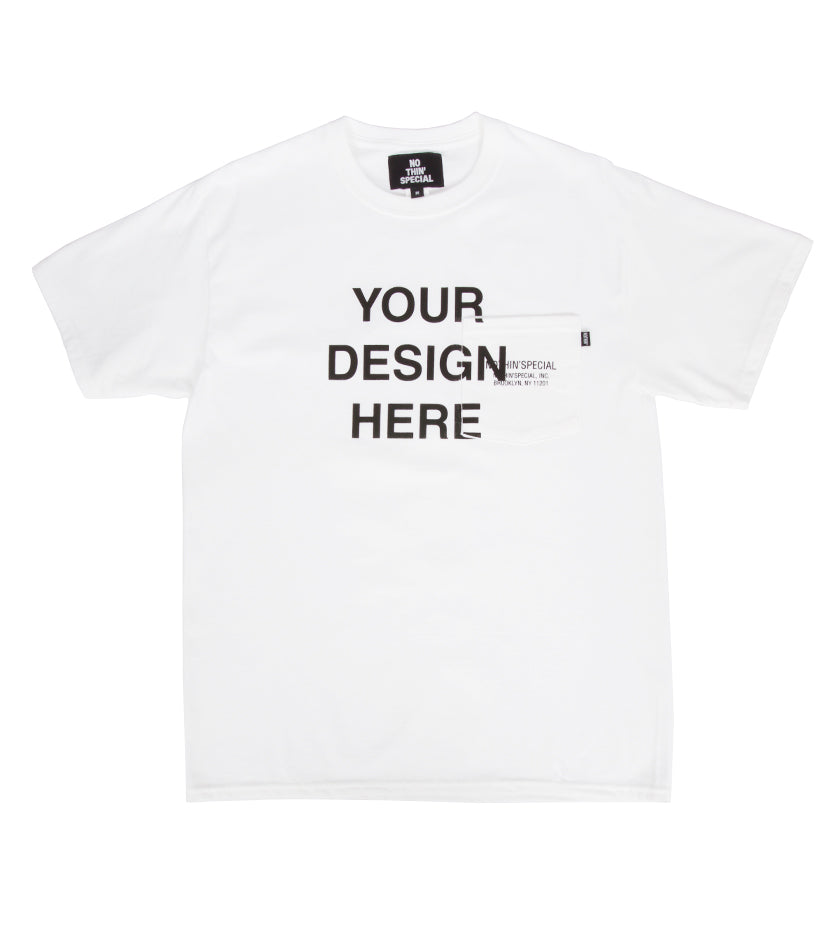 Make Your Own Tee (White)