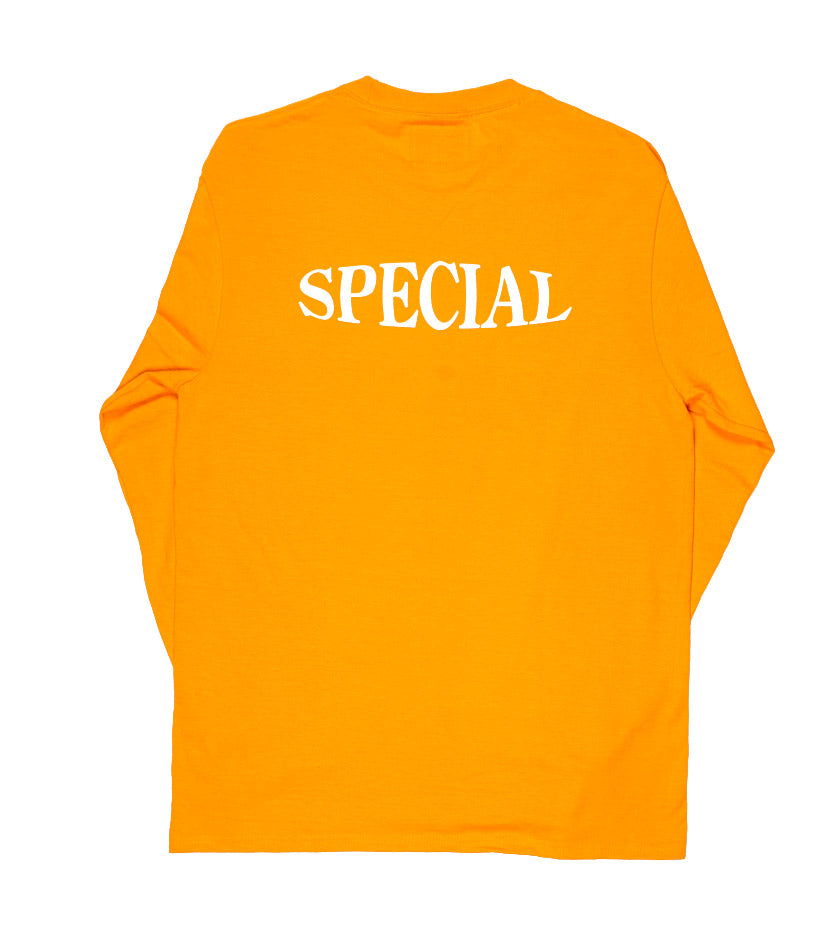Oval Logo L/S Tee (Gold)