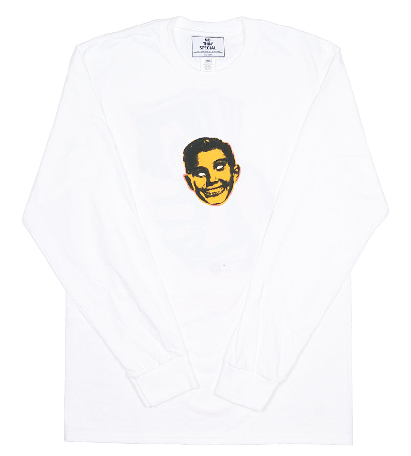 Power Of Money L/S Tee (White)