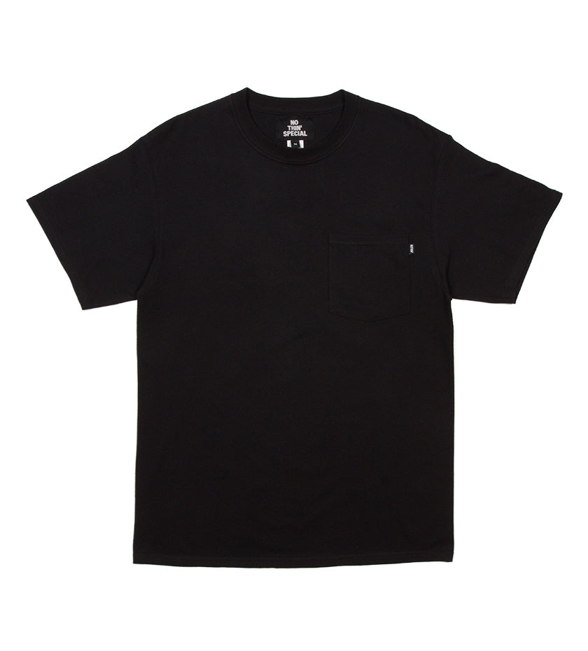 Illusion Pocket Tee (Black)