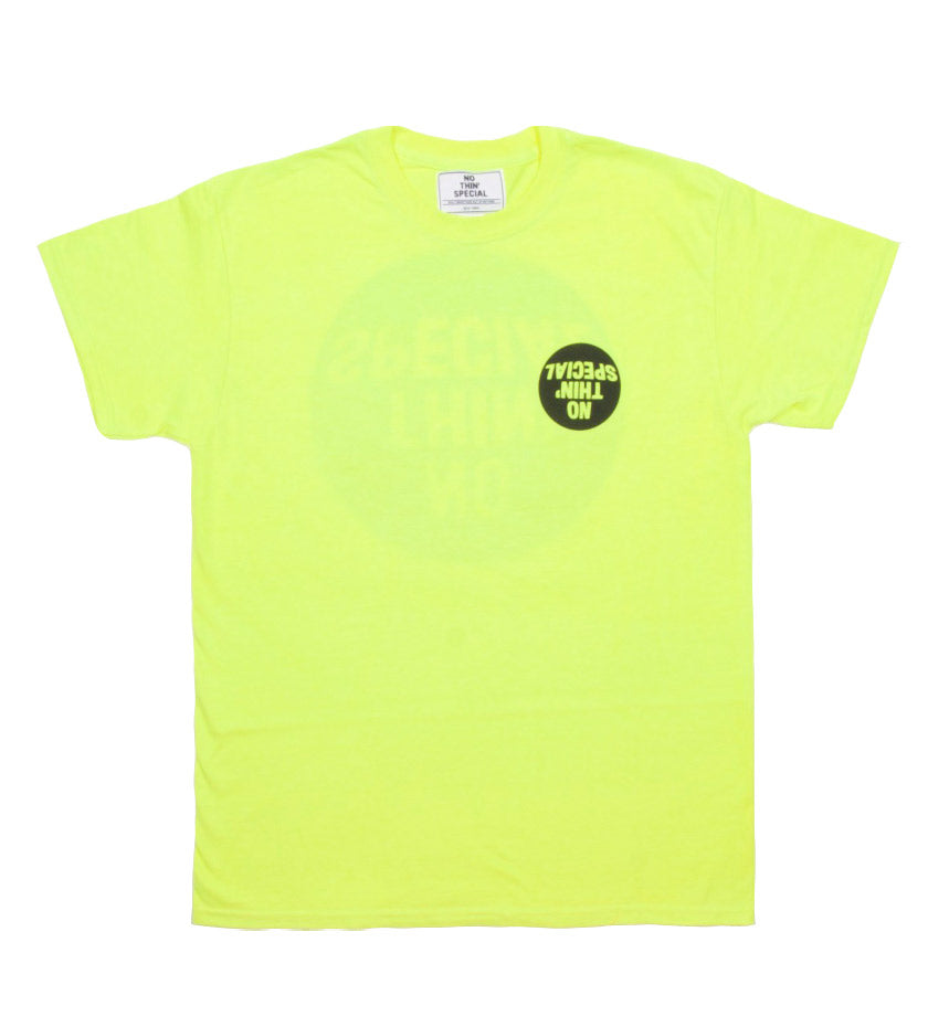 Fisheye Logo Tee (Safety Yellow)