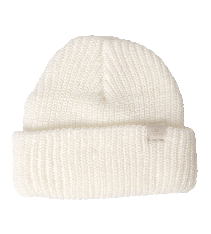Color Archive Essential Beanie (Natural White)