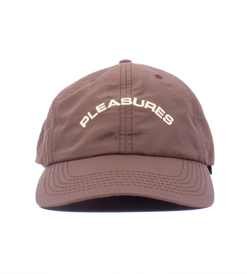 Destiny Nylon Polo Cap (Brown)