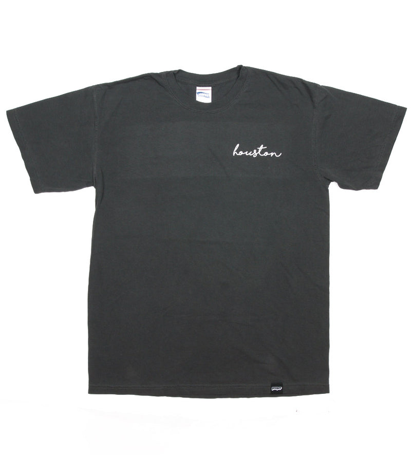 Houston Cursive Tee (Pepper)