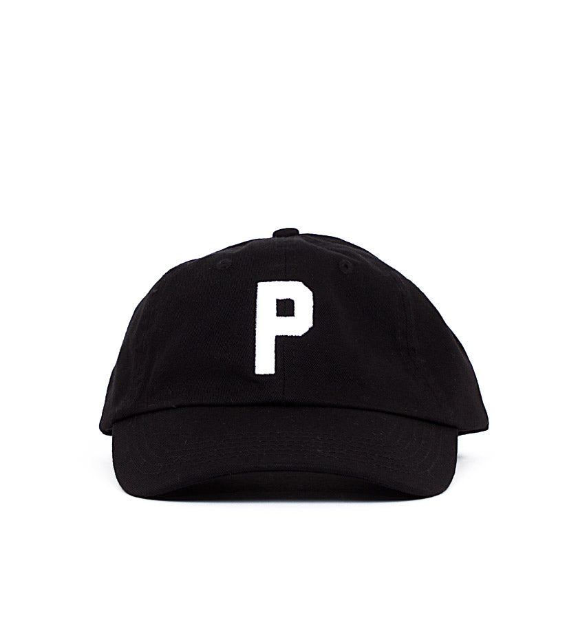 Stock P Dad Hat Kids (Black)