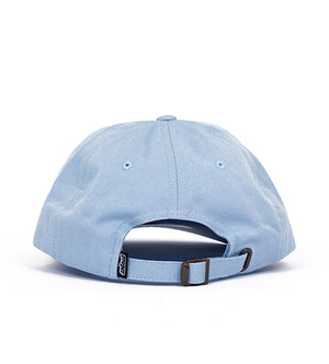 Houston Cursive Dad Hat (Light Blue)