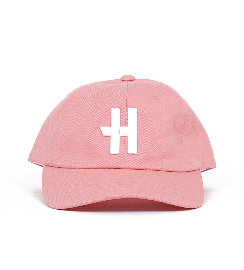 Stock H Dad Hat (Pink)