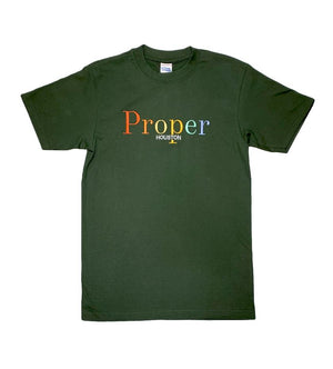 Proper Houston Fall Multi Tee (Green)
