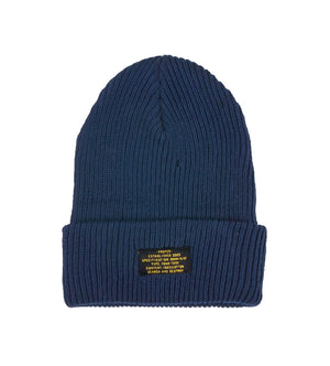 Patch Beanie (Navy)