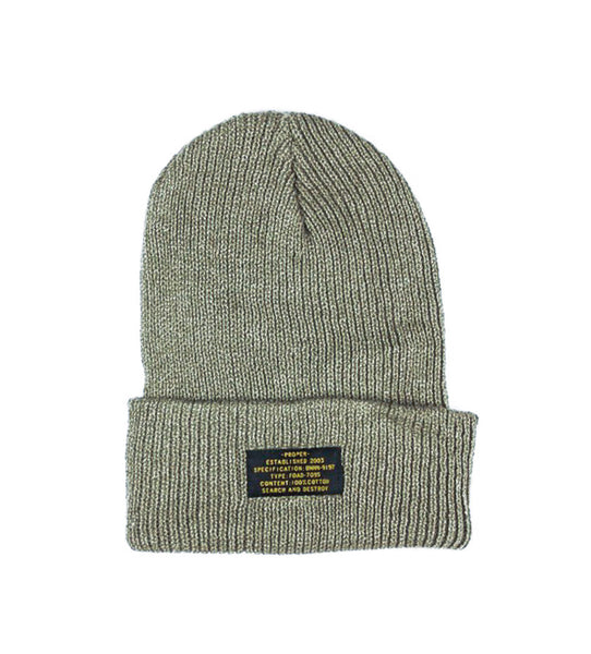 Patch Beanie (Olive)