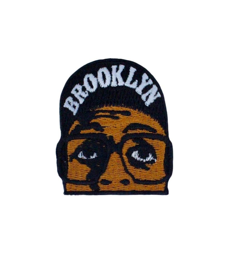 Brooklyn Basketball Player Patch (Black)
