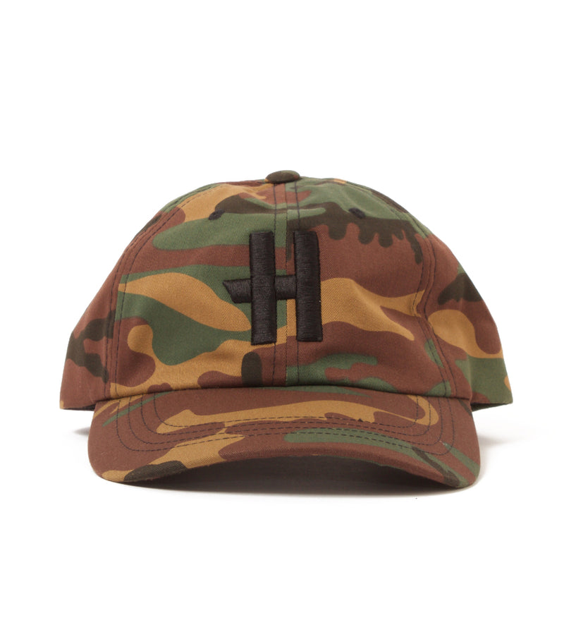 Stock H Dad Hat (Camo / Black)