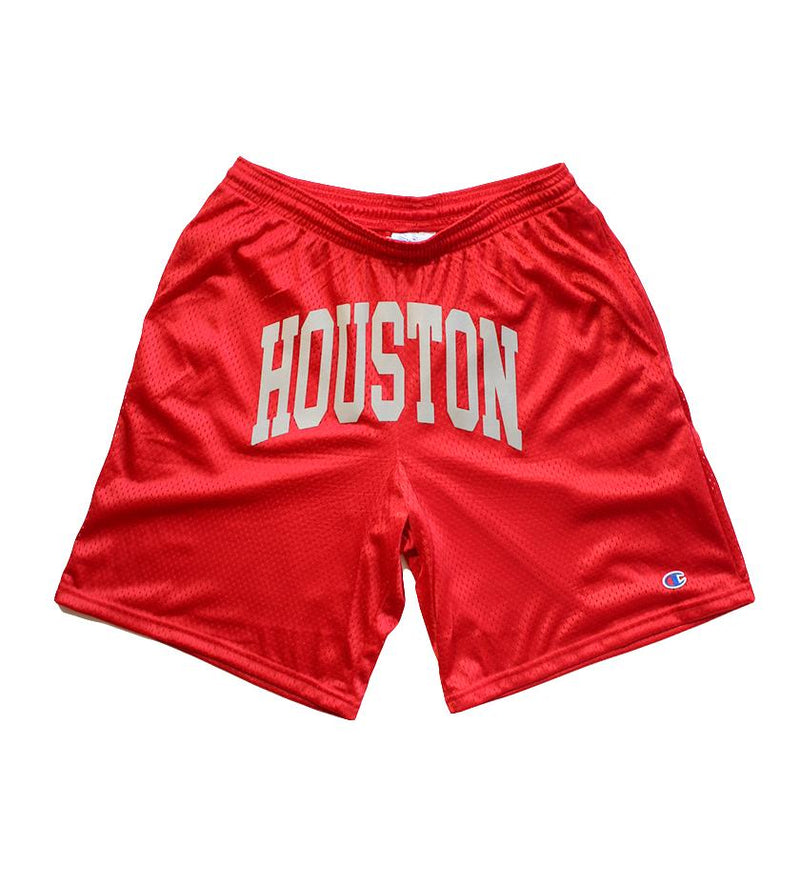 Houston Champion Shorts (Red)