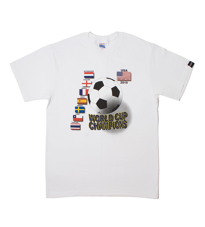 USWNT Back 2 Back Tee (White)