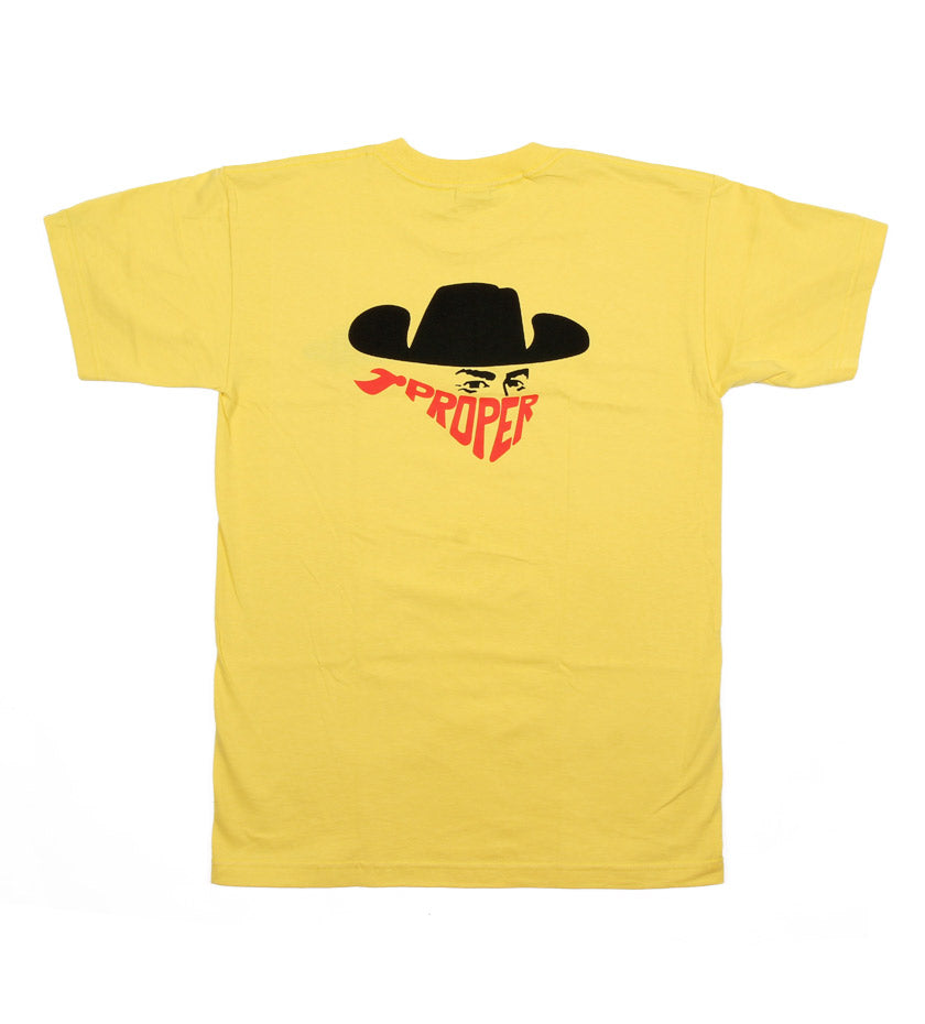 Bandit Tee (Yellow)