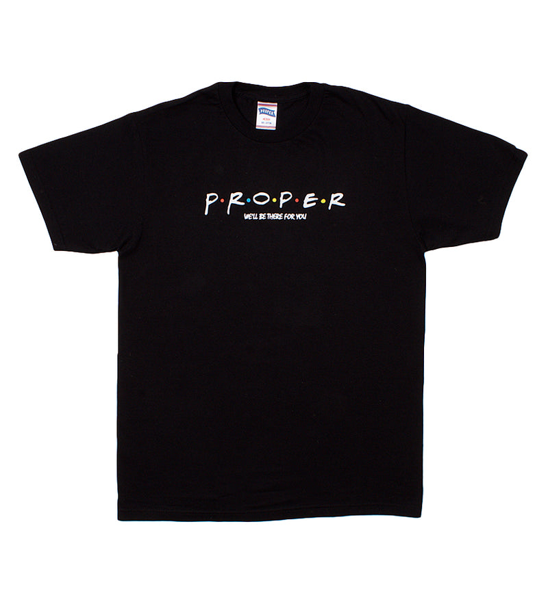 Proper Friends Tee (Black)