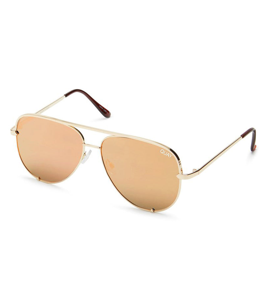 High Key Sunglasses (Gold/Gold)