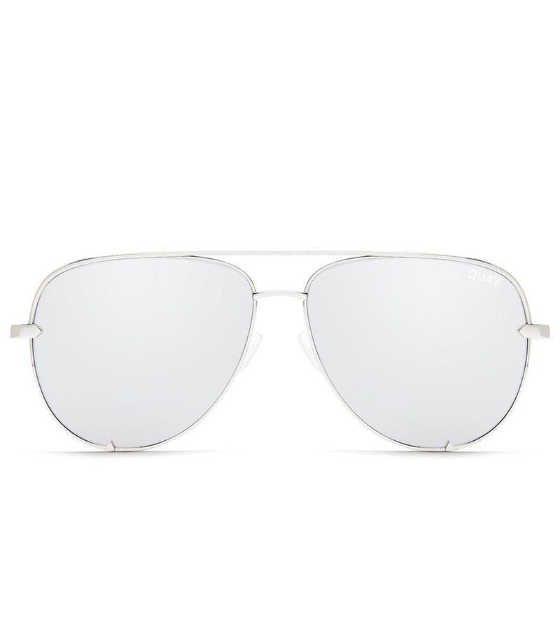 High Key Sunglasses (Silver/Silver)