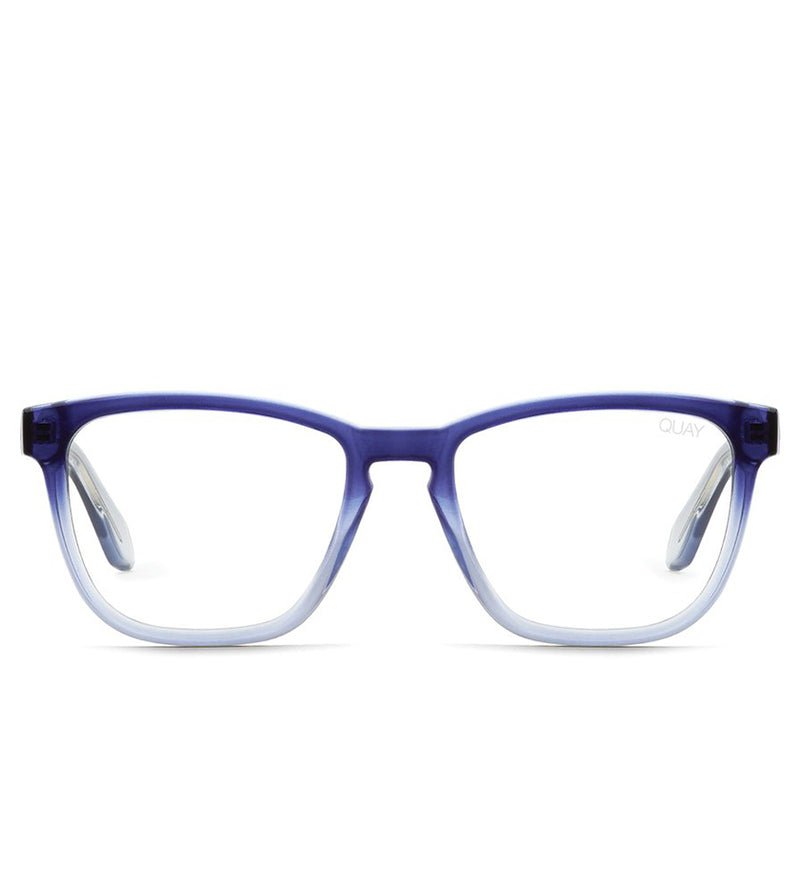 Hardwire Sunglasses (Navy Fade/Clear)