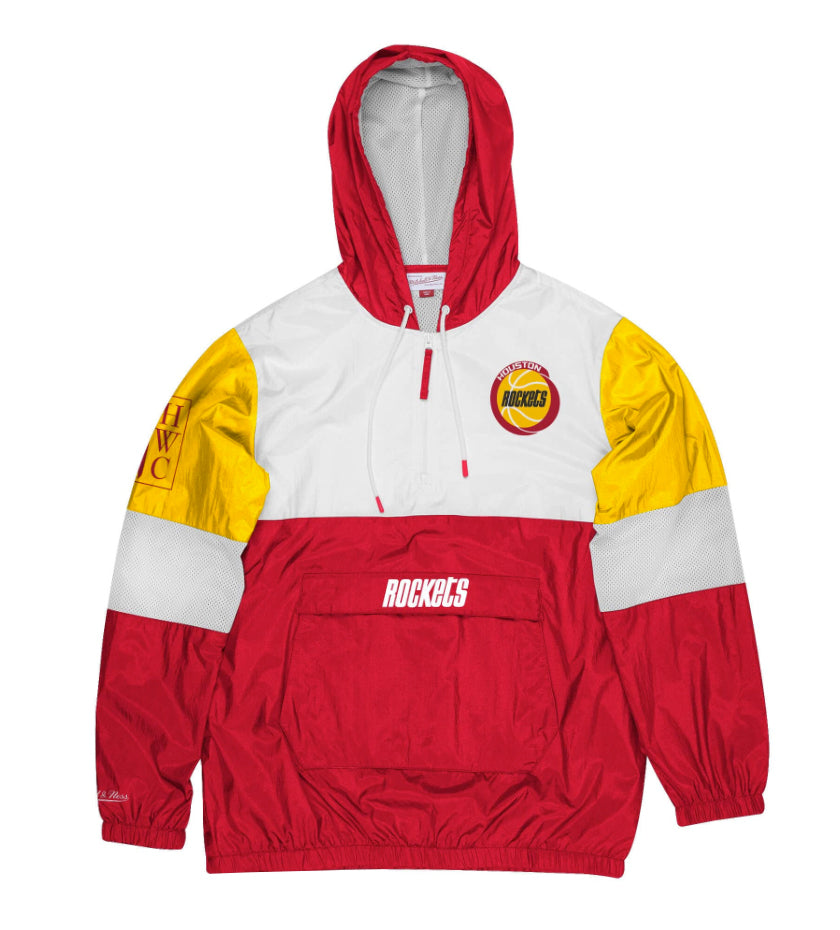 Houston Rockets Surprise Win Windbreaker (Scarlet)