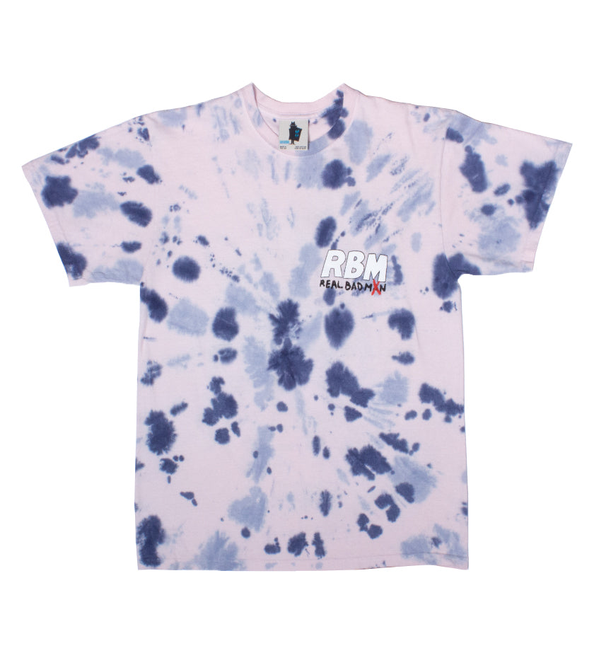 Who Me? S/S Tee (Pink Tie Dye)