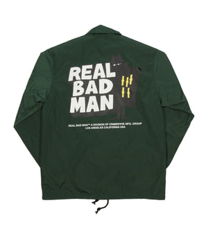 Flipped Coaches Jacket (Teal)